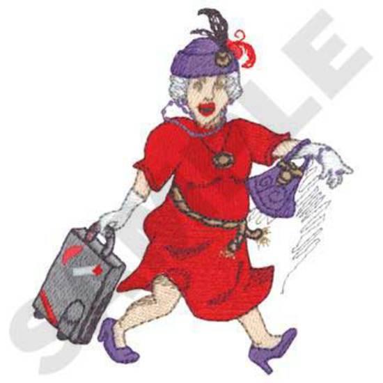 Traveling Lady