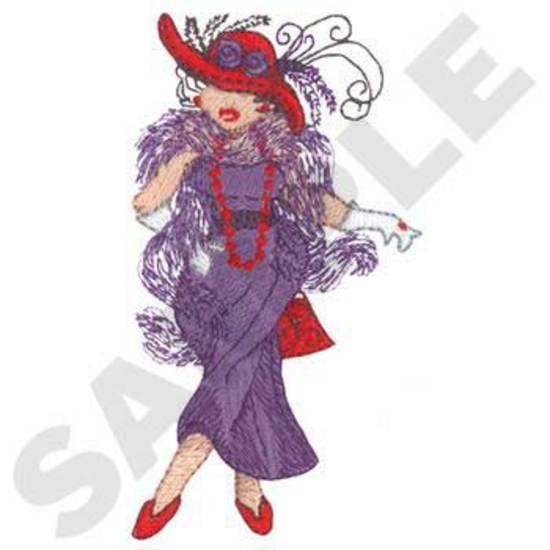 Pretty Lady W/ Hat