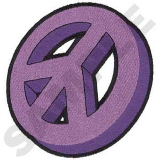 3-d Peace Sign