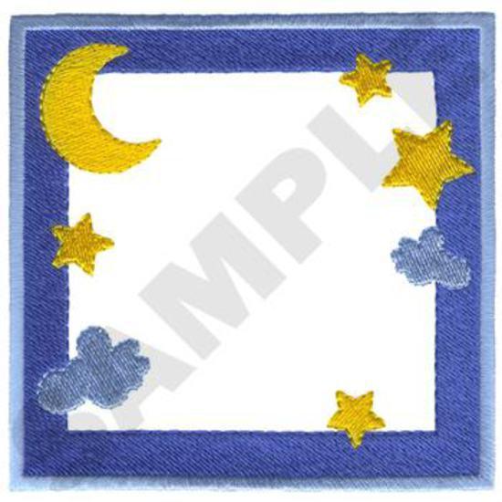 Moon & Stars Border