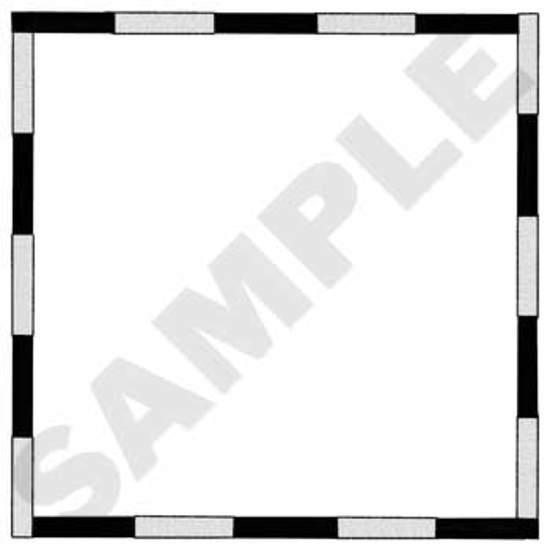 Checkered Border