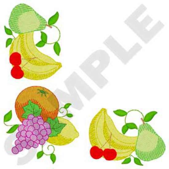 Napkin Fruit Corner