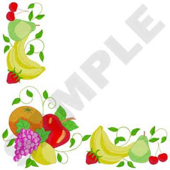 Tablecloth Fruit Corner