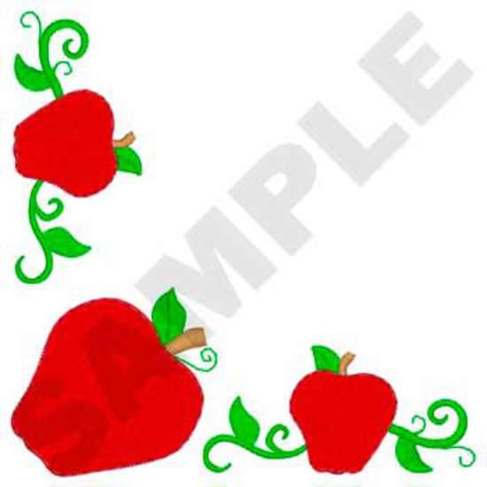 Napkin Apple Corner