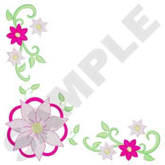 Napkin Flower Corner