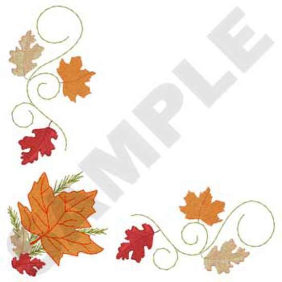 Napkin Leaf Corner