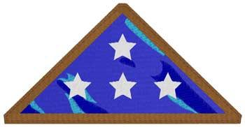 Folded Flag