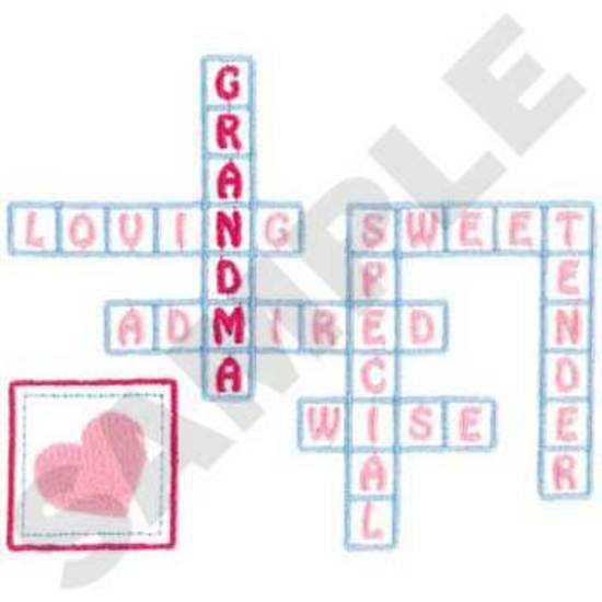 Grandma Crossword