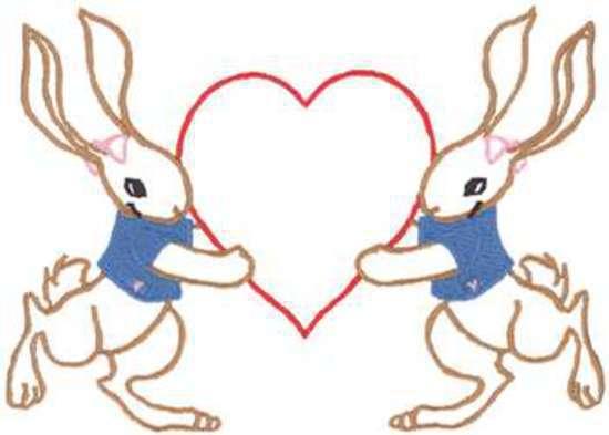 Bunnies & Heart