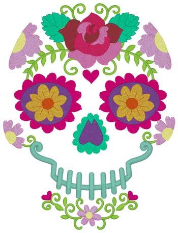 Scroll Skull