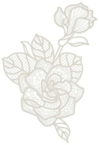 Lace Gardenias