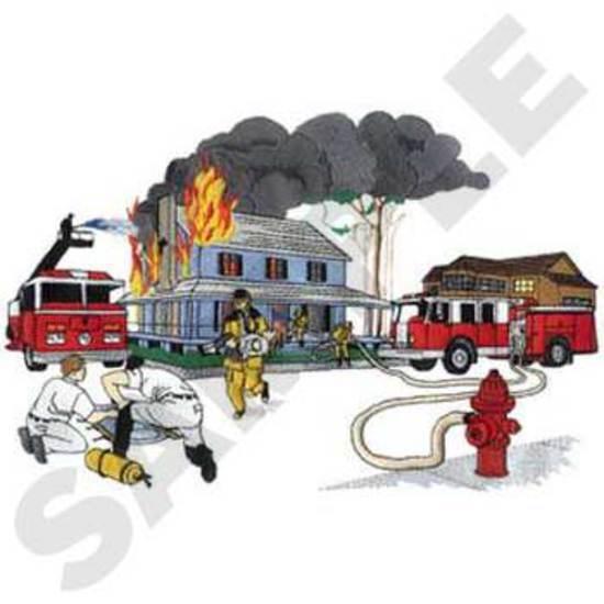 Fire Scene *