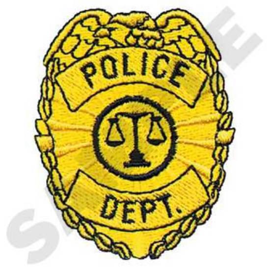 Police Dept. Badge