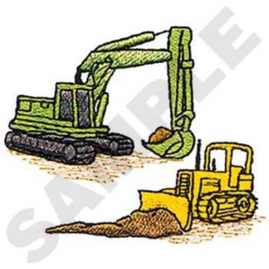 Excavator & Dozer