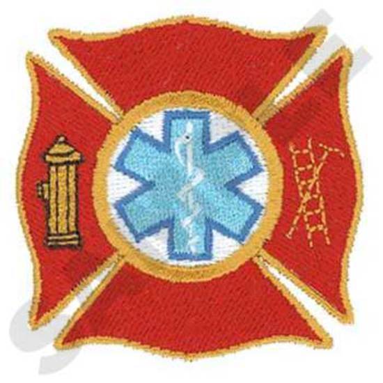 Maltese Cross W/staff