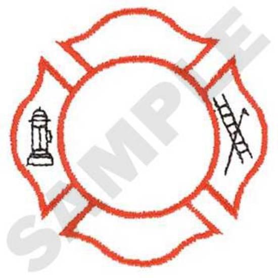 Fire Logo Outline