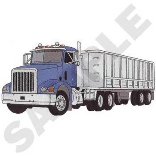 Truck W/ Dump Trailer