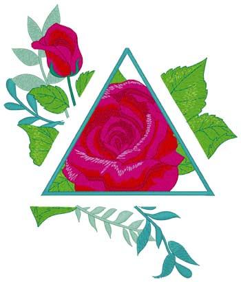 Roses W/cutout