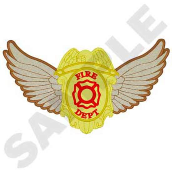 Fire Dept. Badge