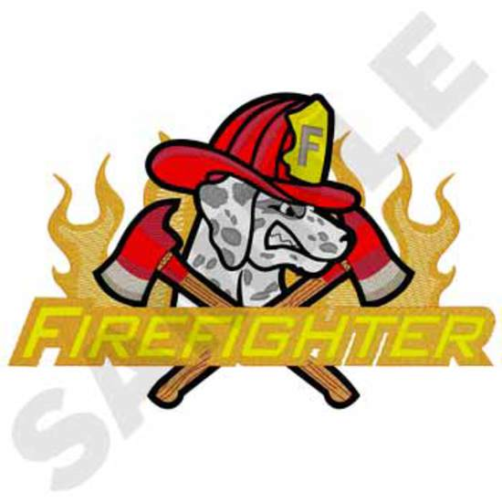 Firefighter & Dalmation