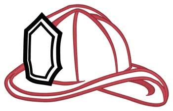 Fire Helmet Outline