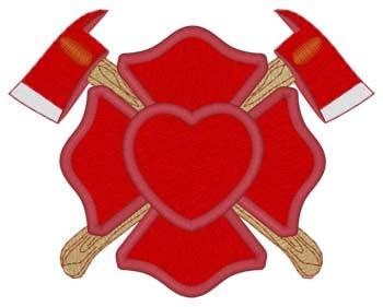 Heart Maltese Cross