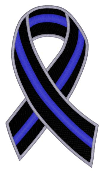 Police Support Ribbon