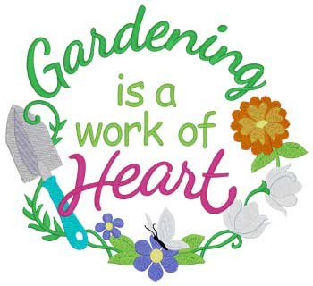 Gardening Work Of Heart