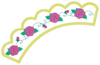 Roses Applique