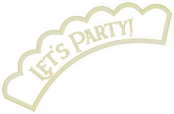 Let's Party Applique