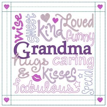 Grandma Word Cloud