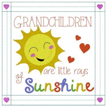 Grandchildren Rays Of Sunshine