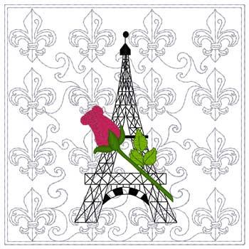 Paris Quilt Squares