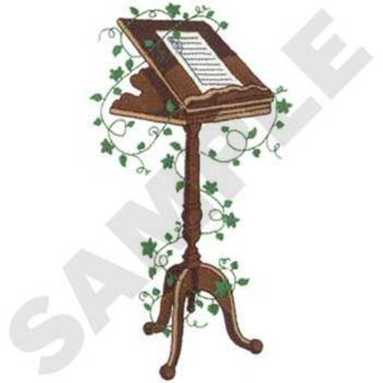 Music Stand W/ivy