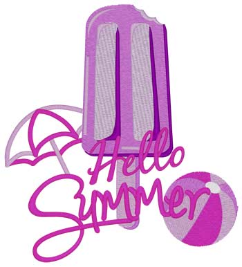 Hello Summer Popsicle