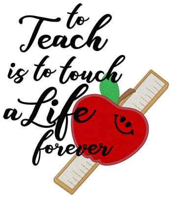 To Teach...