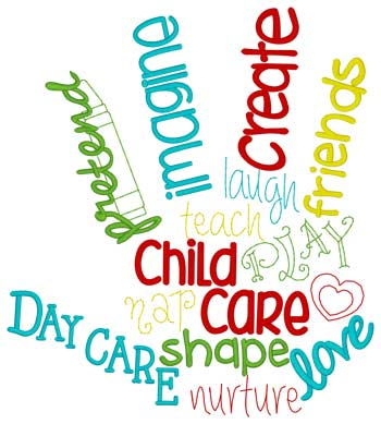 Day Care Word Cloud