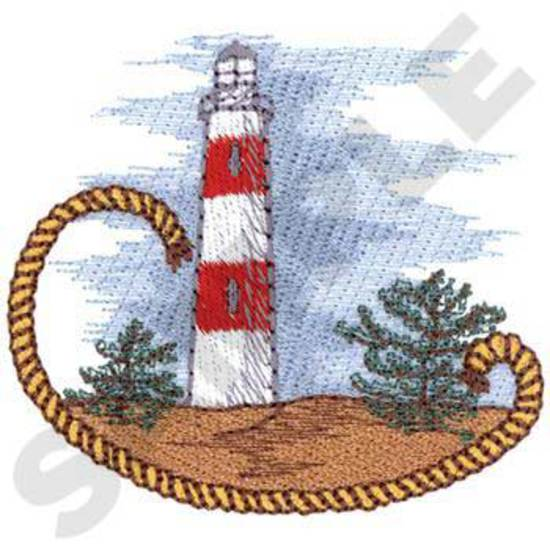 Lighthouse W/rope