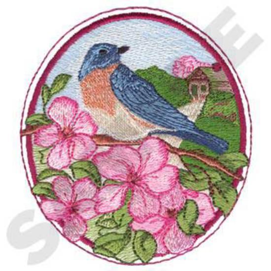 Spring Bird Scene