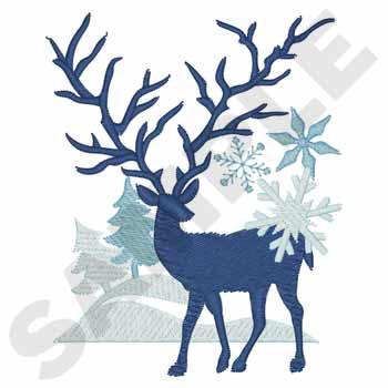 Winter Fantasy Deer