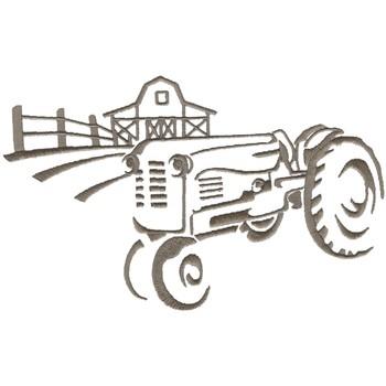Vintage Tractor Graphic