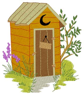 Summer Outhouse