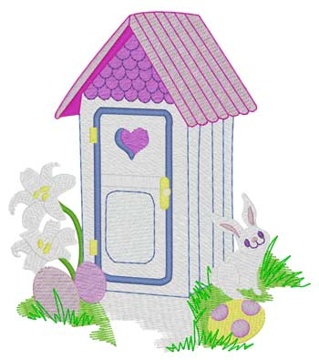 Easter Outhouse