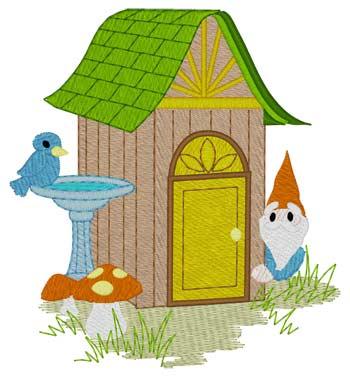 Gnome Outhouse