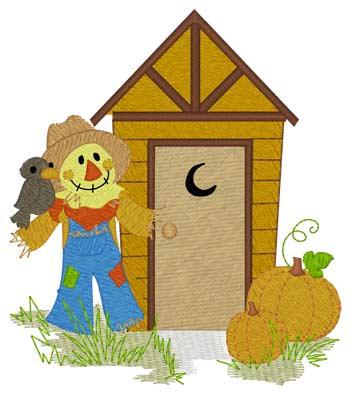 Scarecrow Outhouse