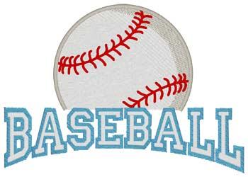 Baseball 3d Puff