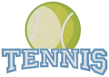Tennis 3d Puff