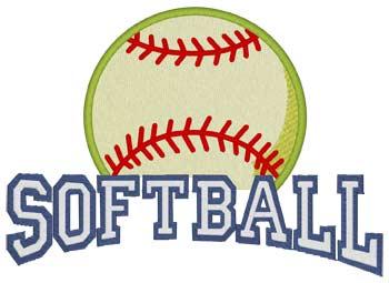 Softball 3d Puff