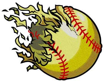 Shredded Softball