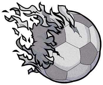 Shredded Soccer Ball